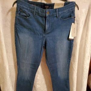 NYDJ Jeans. Aliana Legging. Women's sz. 12. NWT